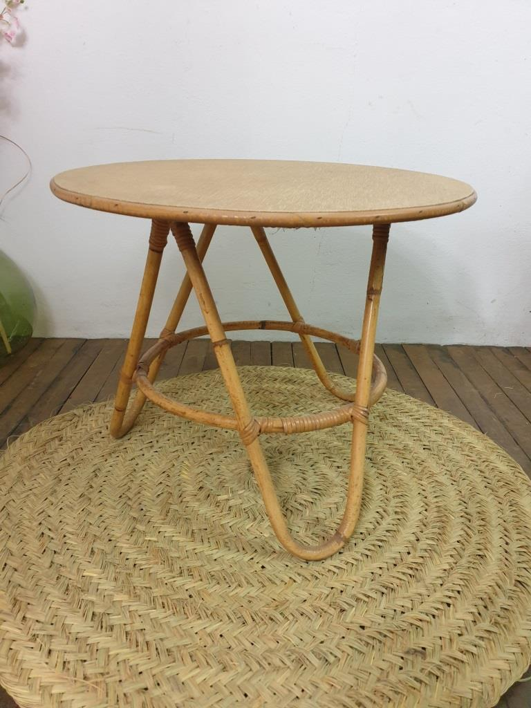 3 table basse en bambou