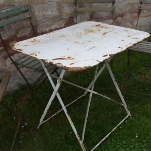 3 table de jardin