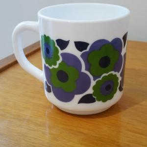 3 tasse lotus bleue