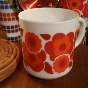 3 tasse mug lotus rouge