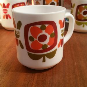 3 tasse mug mobil vert