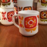 3 tasses mobil orange