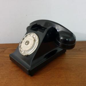 3 telephone noir bakelite 1