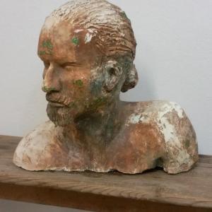 3 tete d homme sculpture