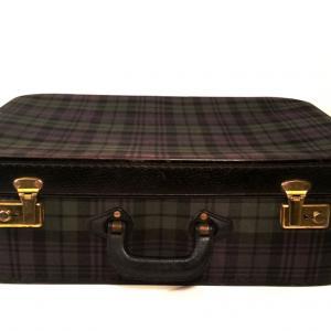 3 valise ecossaise violet