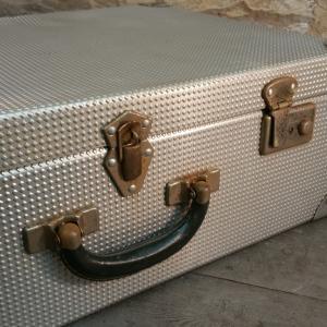 3 valise en alu gauffre