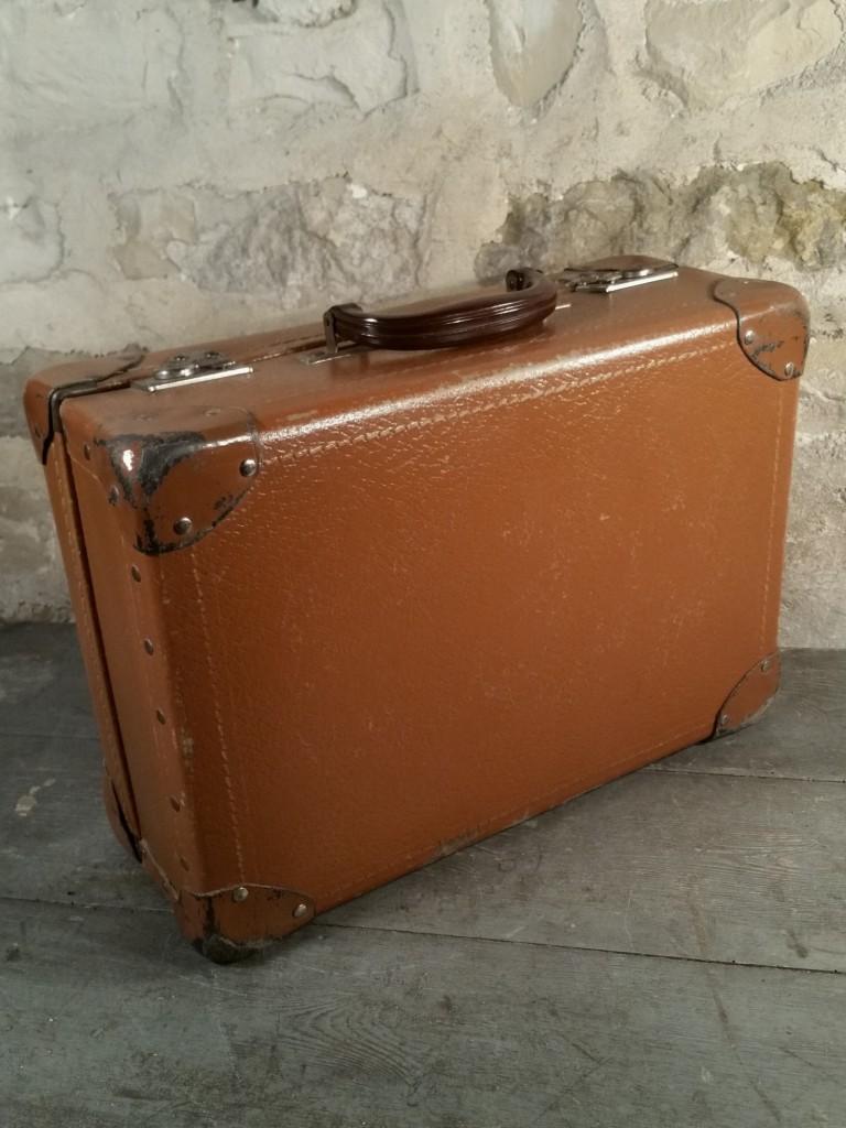 3 valise marron 60