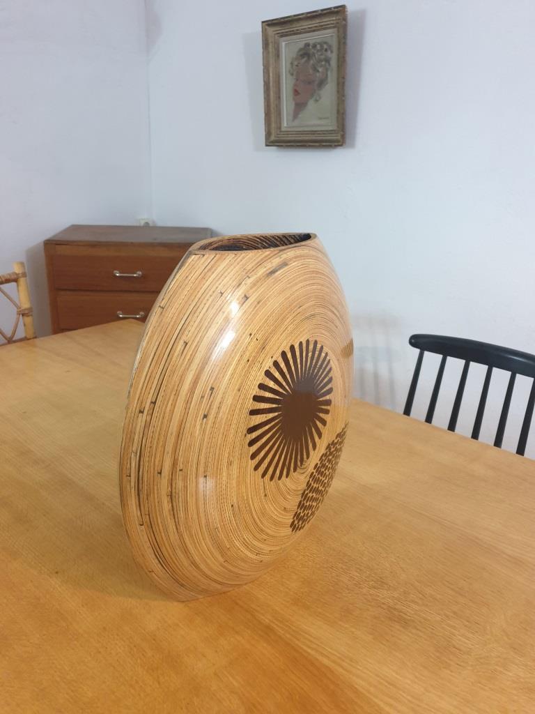 3 vase en bambou