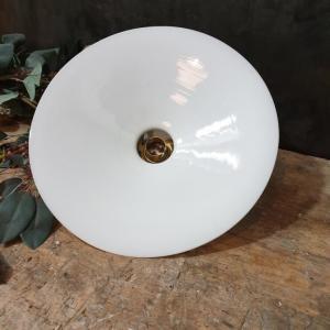 4 abat jour opaline blanche