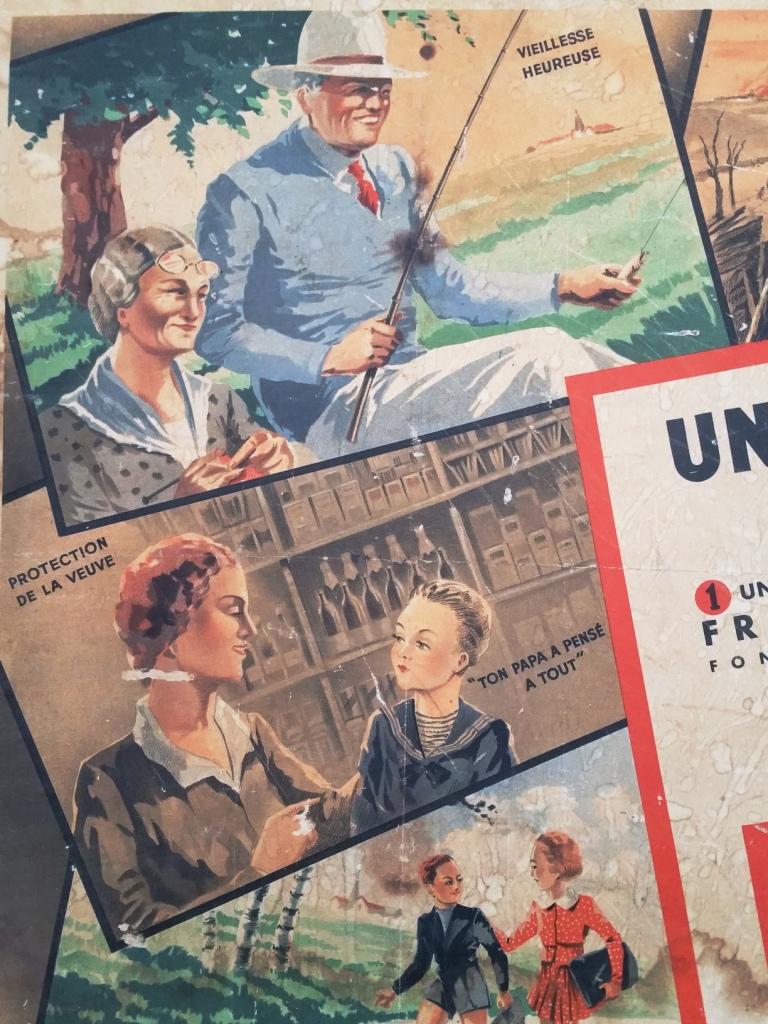 4 affiche assurance le monde