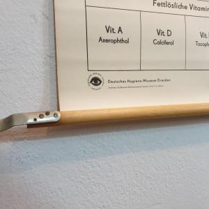 4 affiche d ecole allemande les vitamines