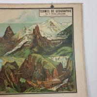 4 affiche d ecole armand colin les region