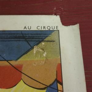 4 affiche scolaire rossignol cirque et averse