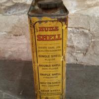 4 bidon huile shell moteurs