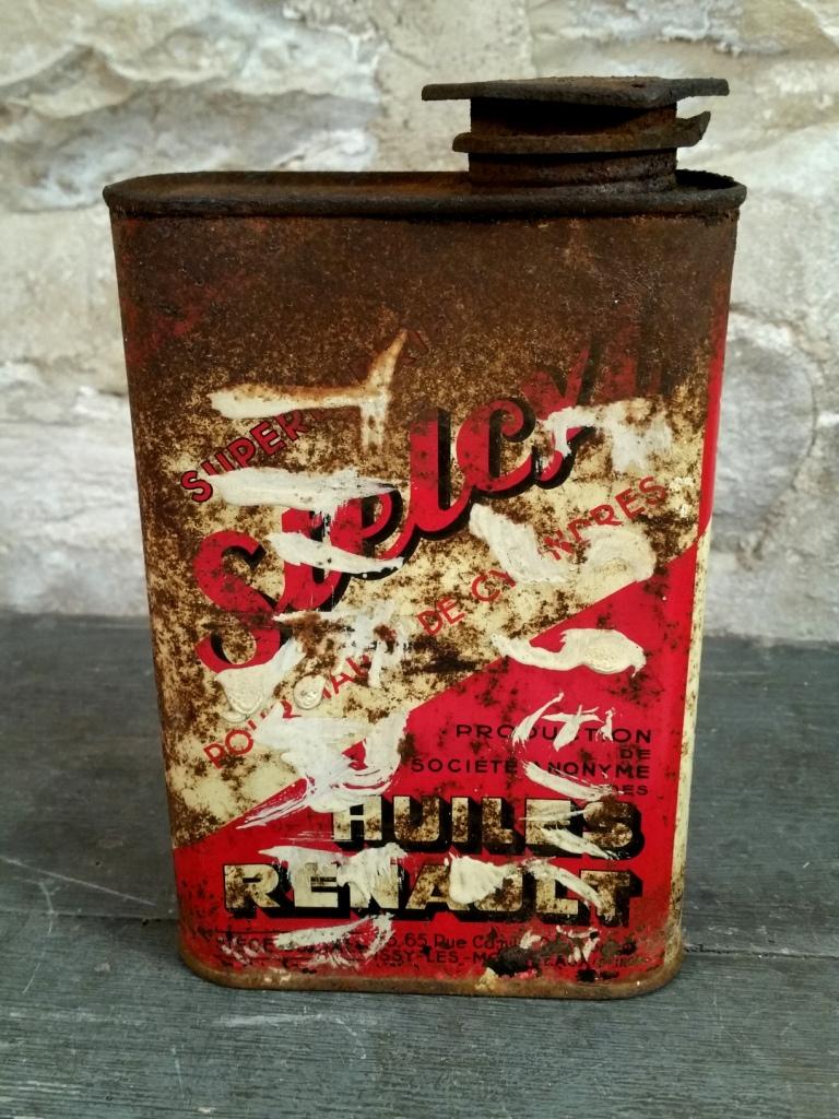 4 bidon huile stelcyl renault