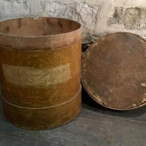 4 boite ronde en bois