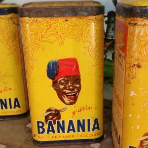 4 boites de banania