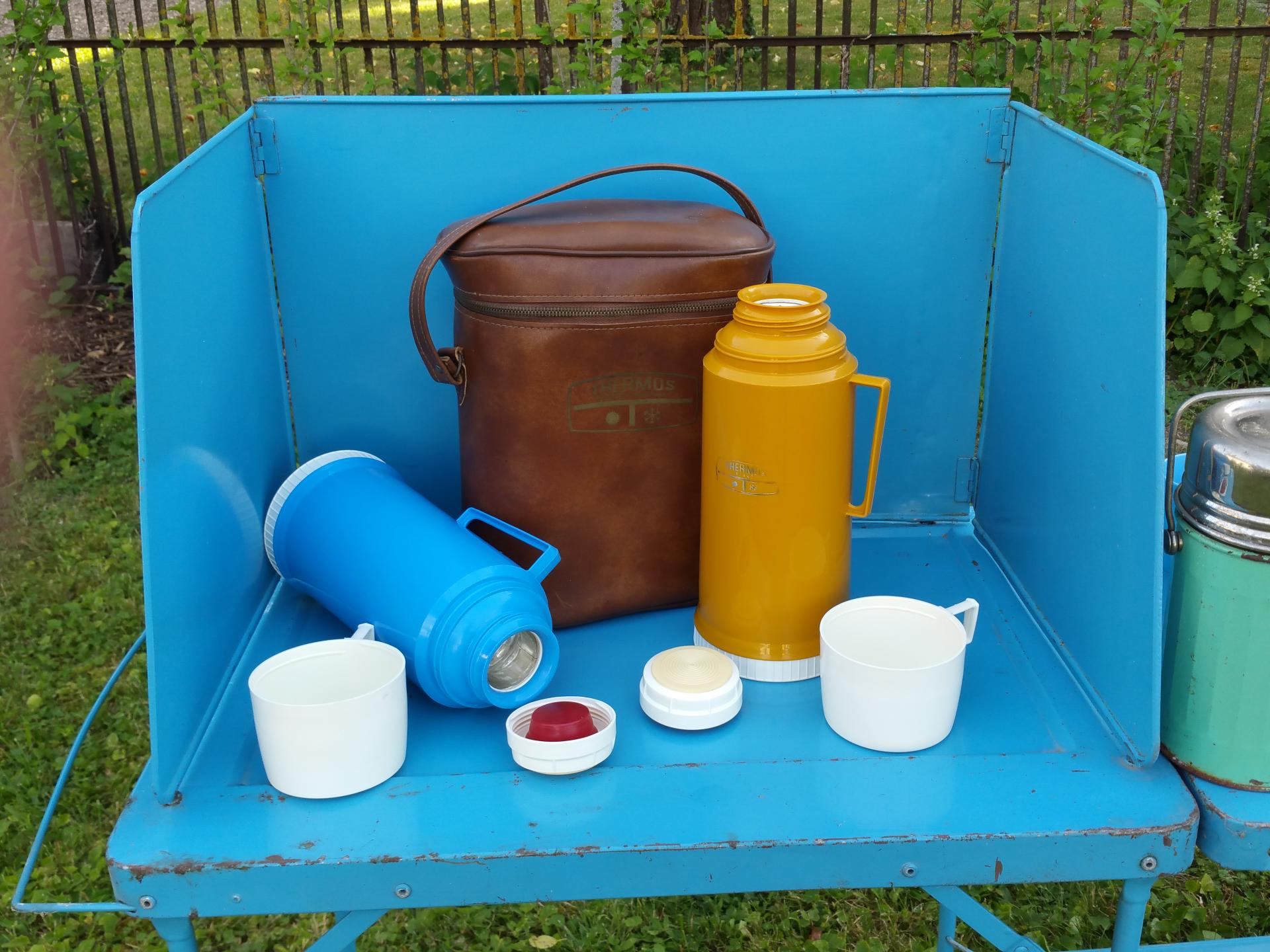 4 bouteilles thermos
