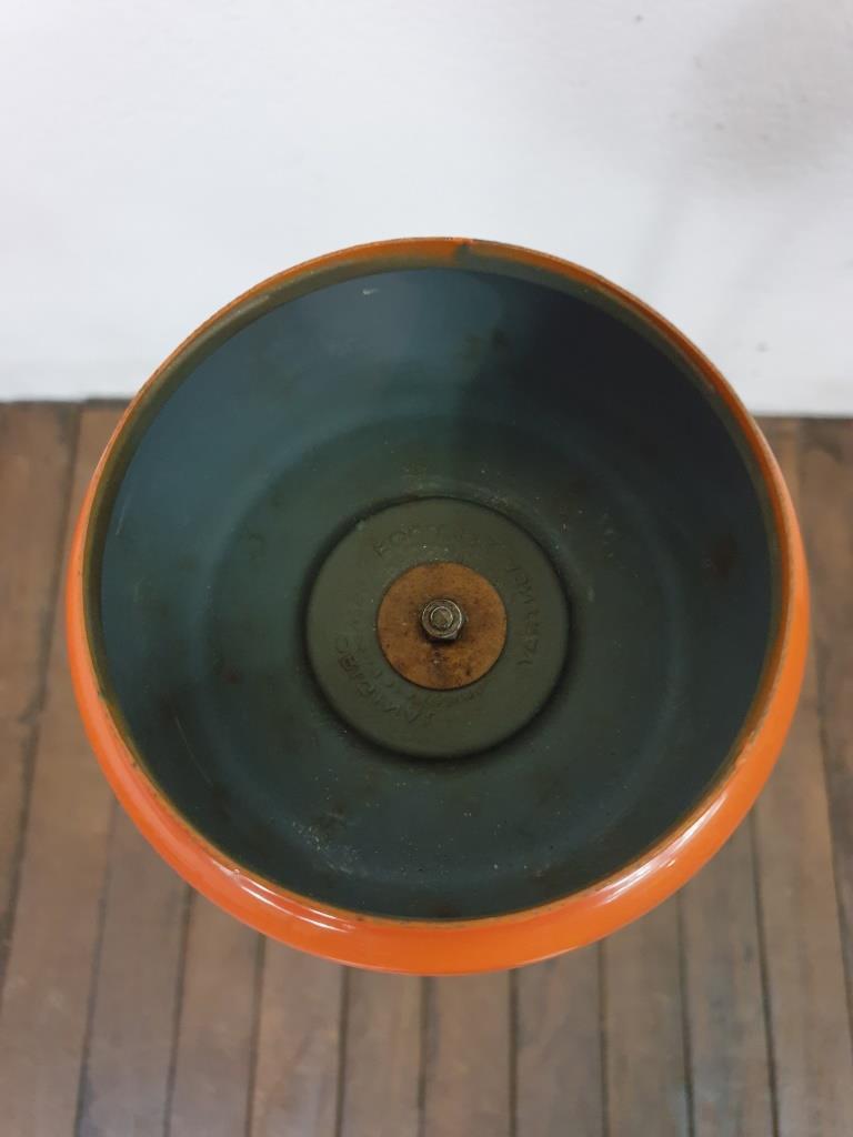 4 cendrier orange