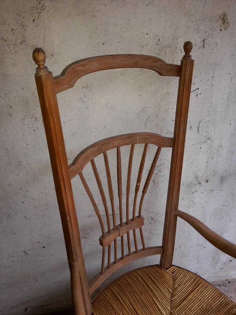 4 chaise de nourrice