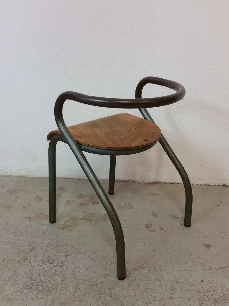 chaise d 39 cole mullca par jacques hitier. Black Bedroom Furniture Sets. Home Design Ideas