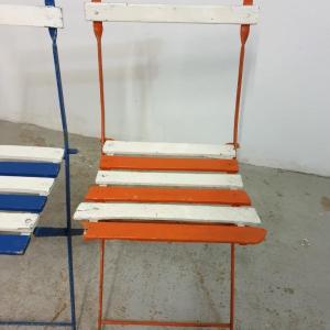 4 chaises de guinguettes 1