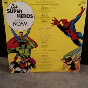 4 disque supers heros