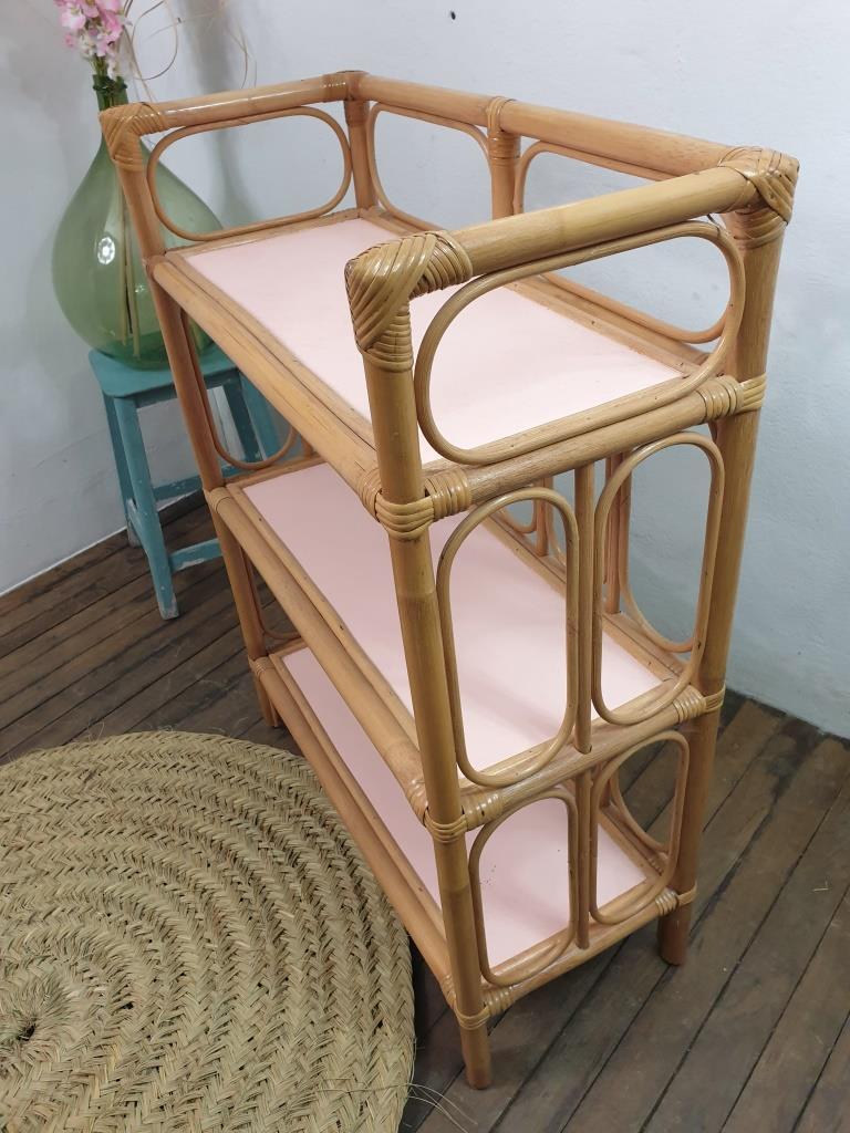 4 etagere bambou