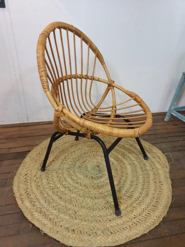 4 fauteuil corbeille 1
