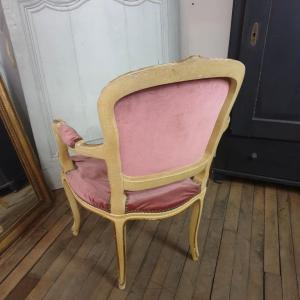 4 fauteuil louis xv