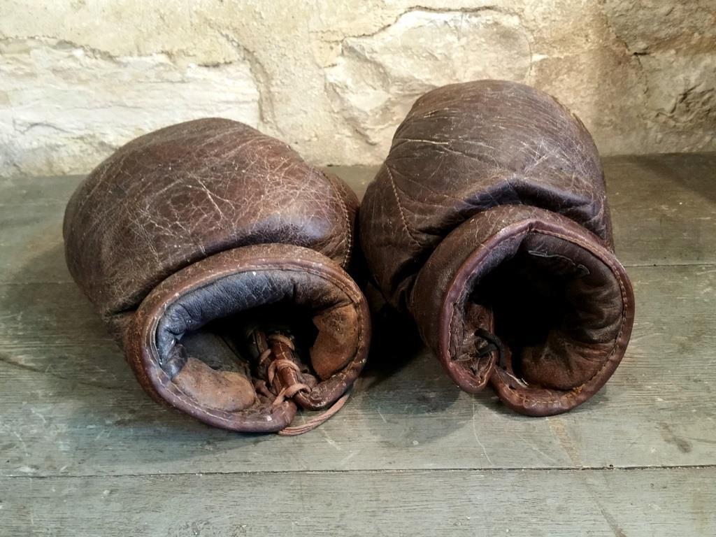 4 gants de boxe