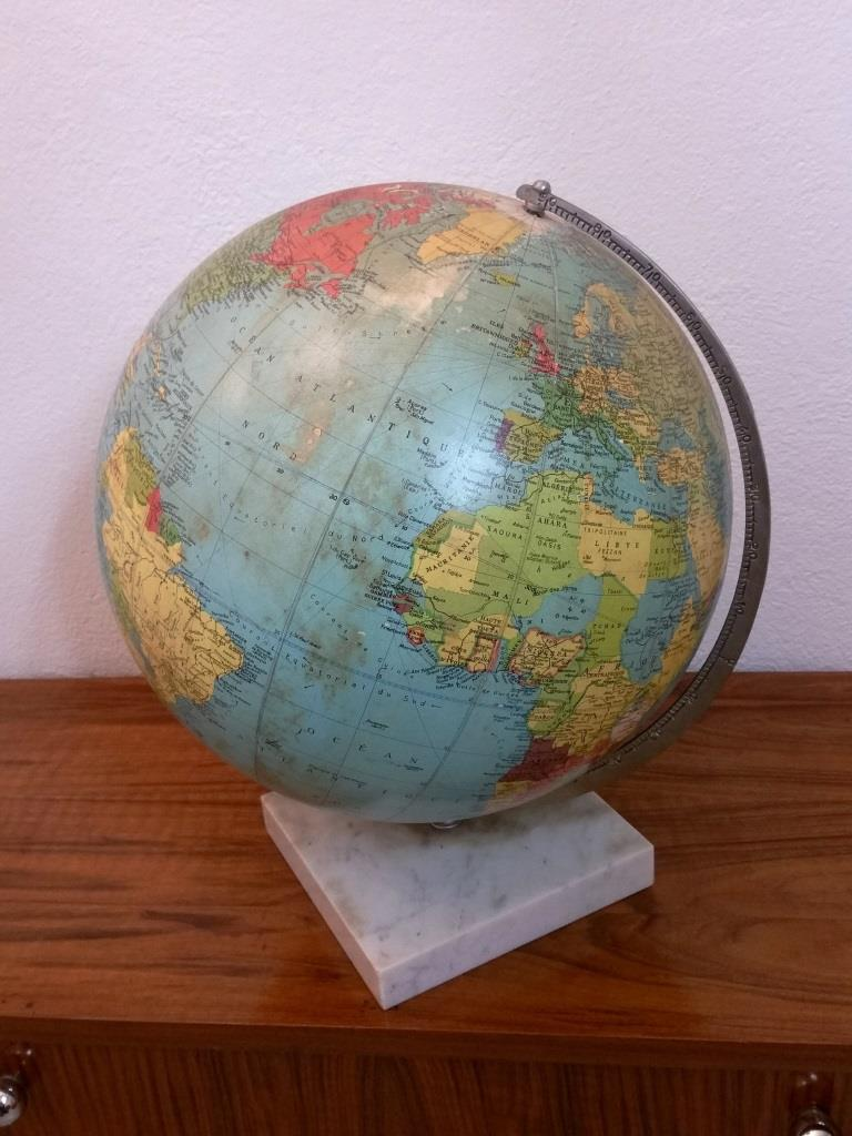4 globe terrestre lumineux taride