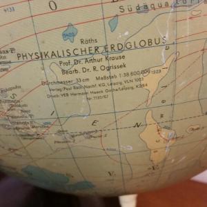 4 globe terrestre raths