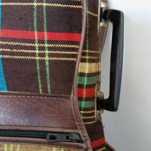 4 housse de guitare tissu ecossais