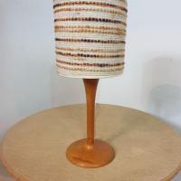 4 lampe bois laine