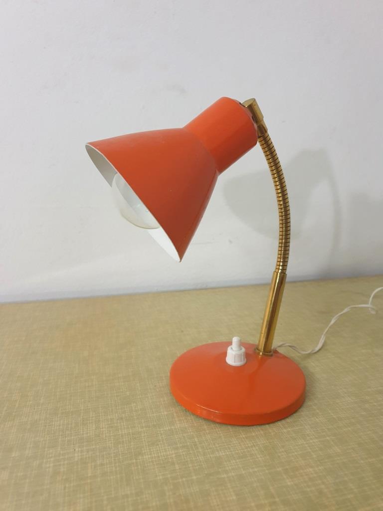 4 lampe cocotte orange