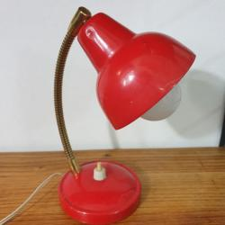 Lampe cocotte rouge