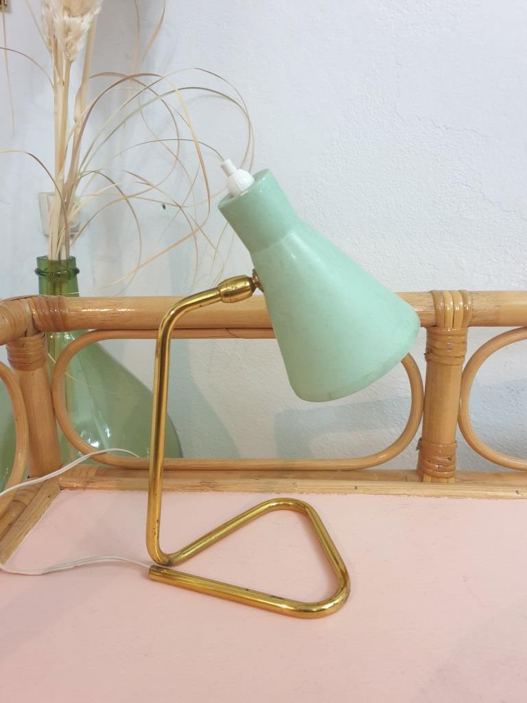 4 lampe cocotte verte pastel