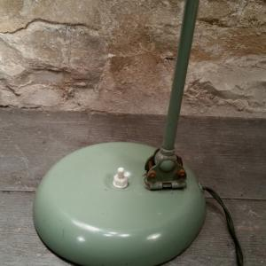 4 lampe de bureau verte