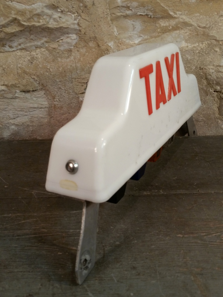 4 lampe taxi