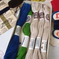 4 lot de laine st pierre dd dmc
