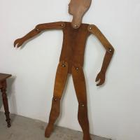 4 mannequin en bois