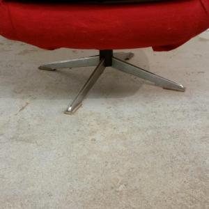 4 paire de fauteuils rouges