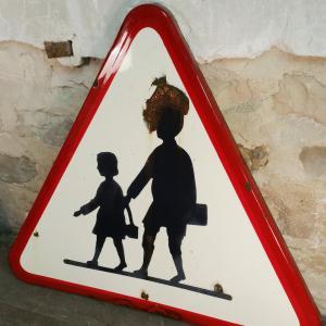 4 panneau signalisation attention ecole