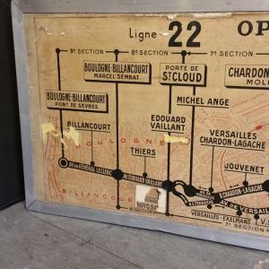 4 plan de ligne de bus de paris