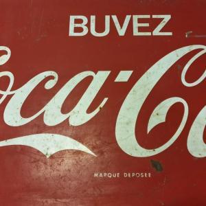 4 plaque coca cola