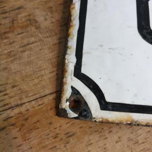 4 plaque emaillee caven 3