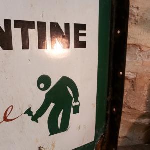 4 plaque emaillee valentine