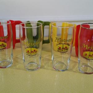 4 porte verre esso