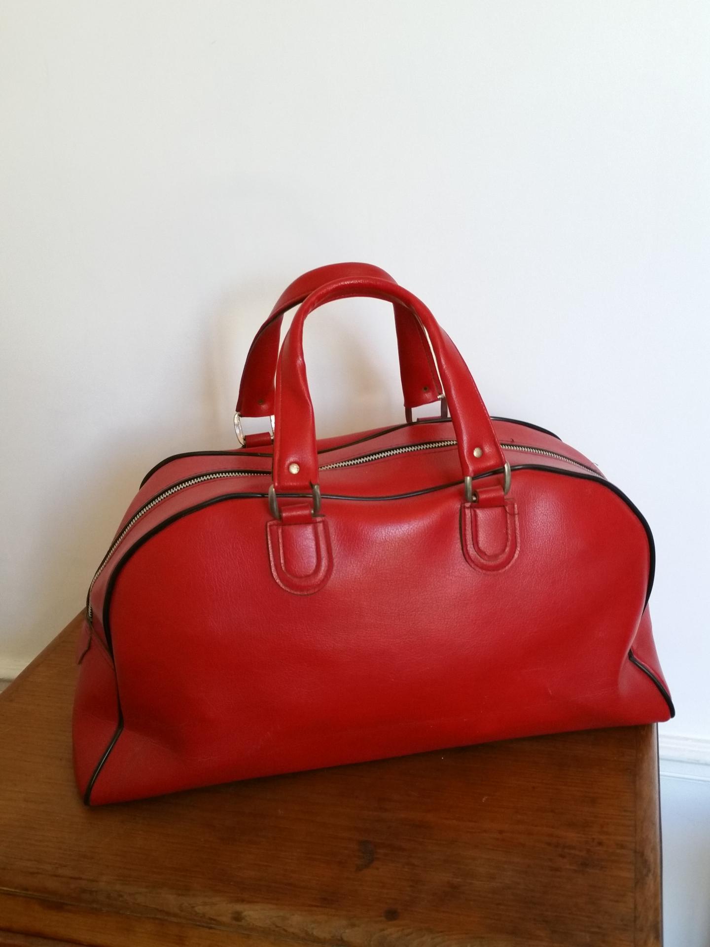 4 sac de sport rouge